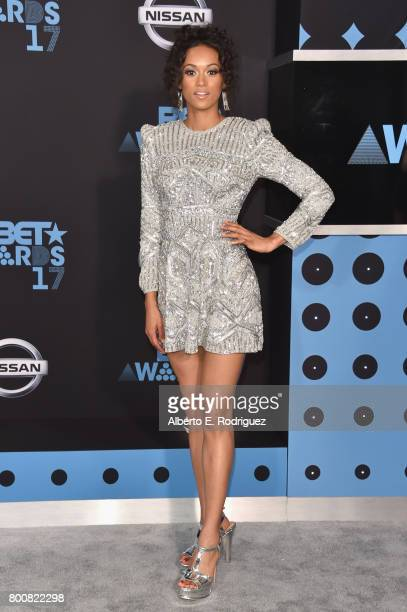 Kara McCullough at the 2017 BET Awards at Microsoft Square on June 25 2017 in Los Angeles California