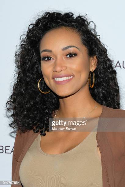 Kara McCullough attends Beautycon Festival NYC 2018 Day 1 at Jacob Javits Center on April 21 2018 in New York City