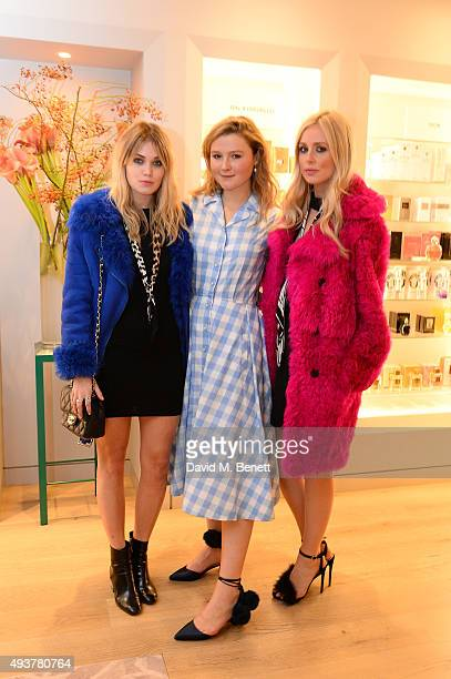 Kara Rose Marshall, Amber Atherton and Diana Vickers attend the Phytomone luxury skin care Mothers and Daughters event at Fortnum & Mason on October...