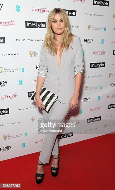 Kara Rose Marshall attends the InStyle EE Rising Star PreBAFTA Party at 100 Wardour Street on February 4 2016 in London England