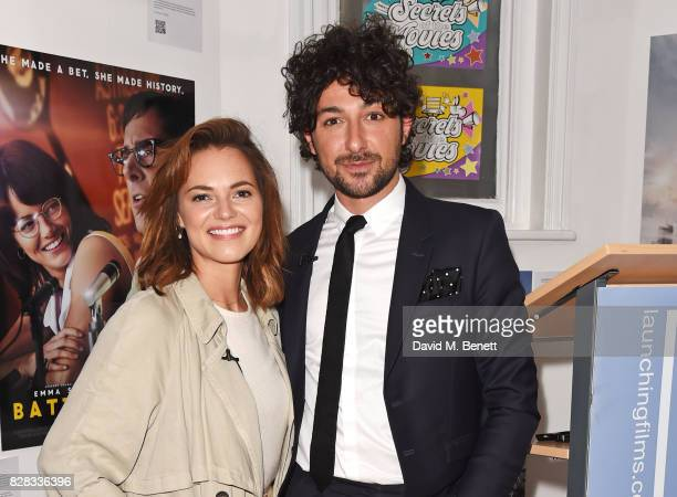 Kara Tointon and Alex Zane attend the launch of 'Secrets Of The Movies' a free interactive family event presented by UK Film Distributors at The...