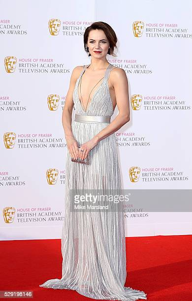 Kara Tointon arrives for the House Of Fraser British Academy Television Awards 2016 at the Royal Festival Hall on May 8 2016 in London England