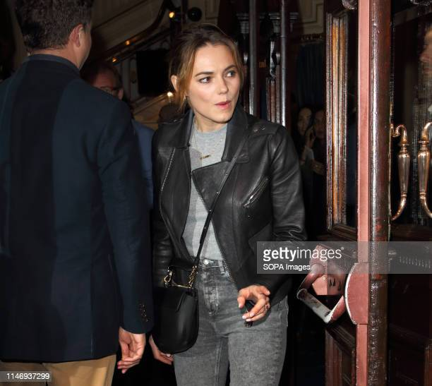 Kara Tointon at The Starry Messenger Press Night at the Wyndhams Theatre Leicester Square