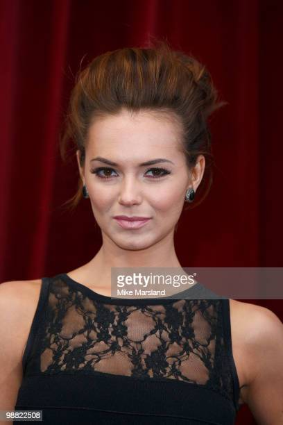 Kara Tointon attends 'An Audience With Michael Buble' at The London Studios on May 3, 2010 in London, England.