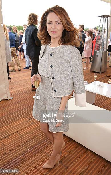 Kara Tointon attends day two of the Audi Polo Challenge at Coworth Park on May 31 2015 in London England
