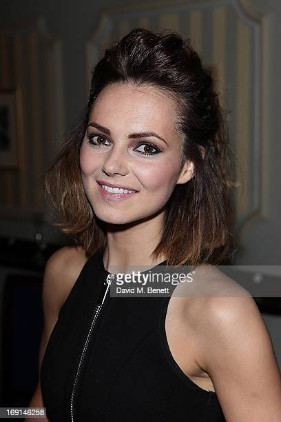 Kara Tointon attends the after party following the press night for Relatively Speaking at Wyndhams Theatre on May 20 2013 in London England