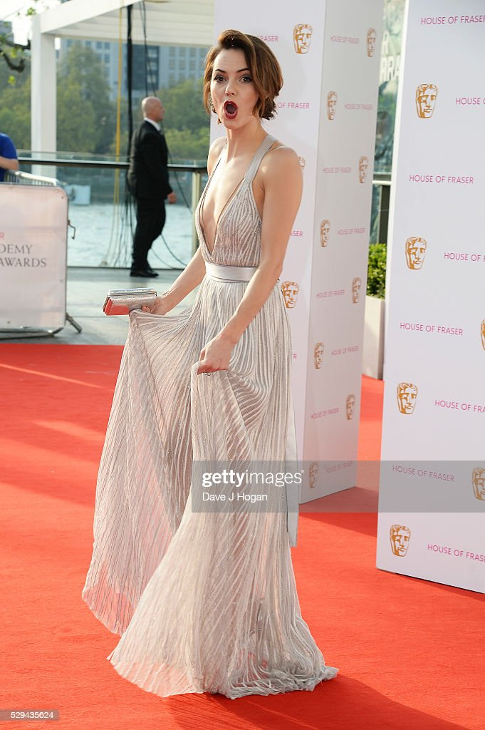 Kara Tointon attends the House Of Fraser British Academy Television Awards 2016 at the Royal Festival Hall on May 8, 2016 in London, England.