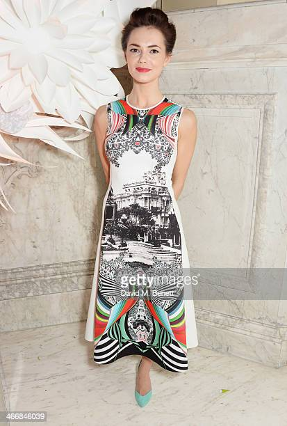 Kara Tointon attends the InStyle Best of British Talent party in celebration of BAFTA in association with Lancome and Sky Living at Dartmouth House...