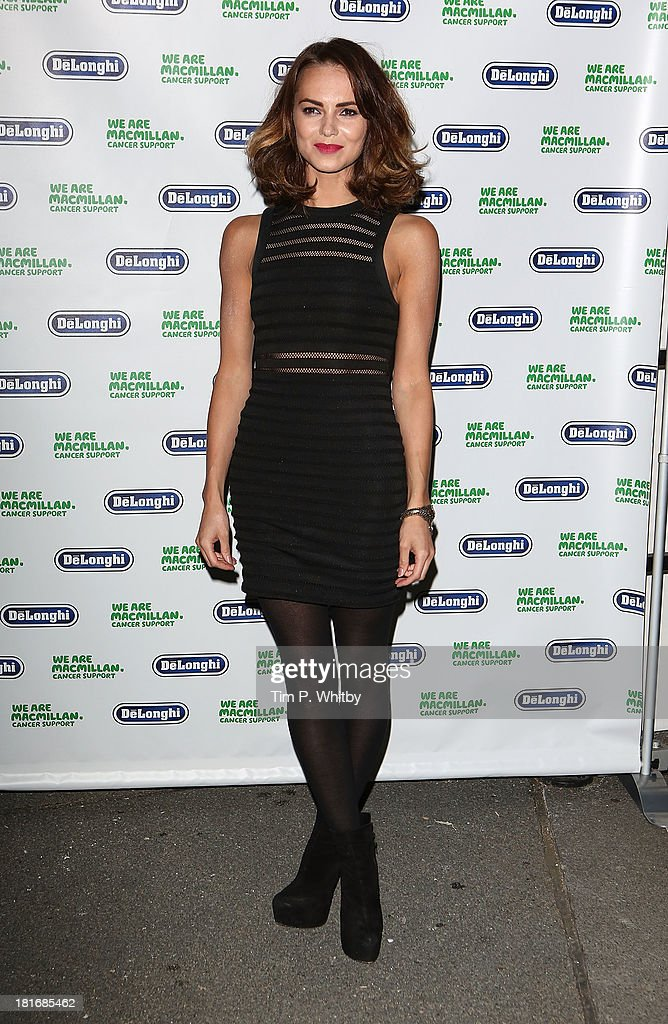 Kara Tointon attends the Macmillan De'Longhi Art auction 2013 at Royal College of Arts on September 23, 2013 in London, England.