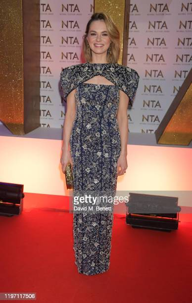 Kara Tointon attends the National Television Awards 2020 at The O2 Arena on January 28, 2020 in London, England.