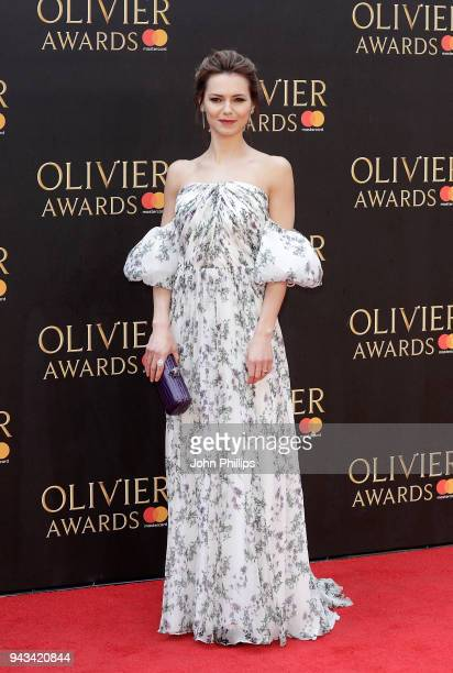 Kara Tointon attends The Olivier Awards with Mastercard at Royal Albert Hall on April 8 2018 in London England