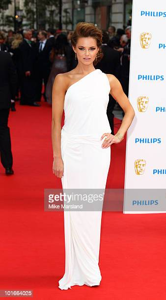 Kara Tointon attends the Philips British Academy Television Awards at London Palladium on June 6 2010 in London England