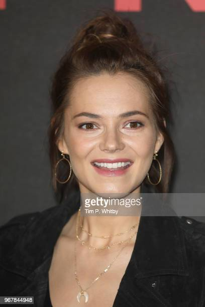 Kara Tointon attends the UK premiere of 'The Happy Prince' at Vue West End on June 5 2018 in London England