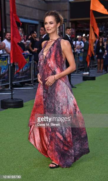 Kara Tointon attends the World Premiere of 'The Festival' at Cineworld Leicester Square on August 13 2018 in London England