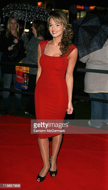 Kara Tointon during 2006 Emeralds and Ivy Ball in Celebration of Cancer Research at The Roundhouse in London Great Britain