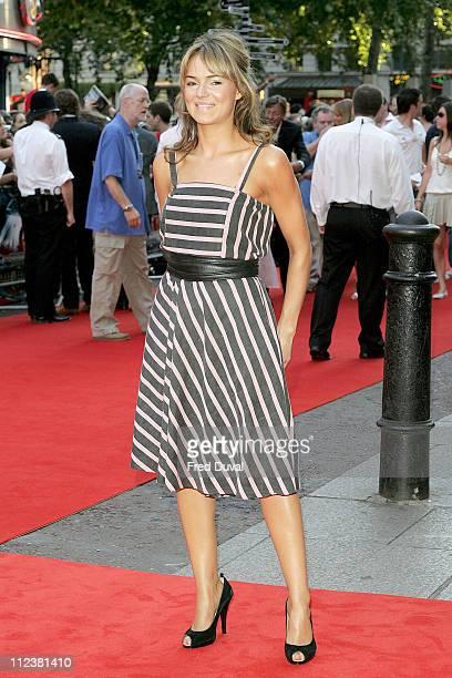 Kara Tointon during 'Stormbreaker' London Premiere at Vue West End in London Great Britain