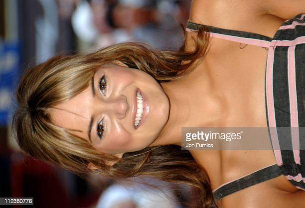 Kara Tointon during 'Stormbreaker' London Premiere Inside Arrivals at Vue West End in London Great Britain