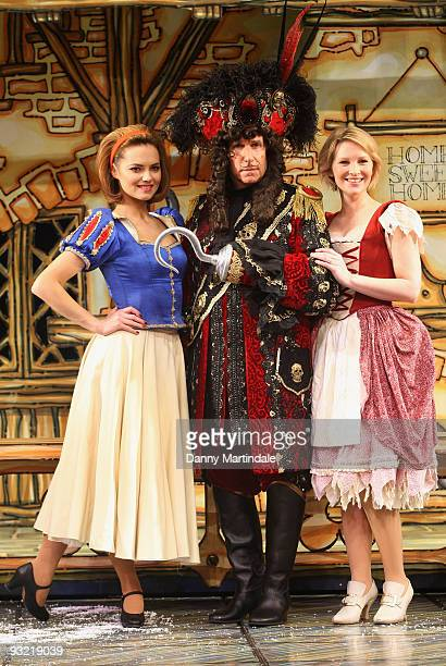 Kara Tointon Henry Winkler and Joanna Page attend photocall to launch pantomime season across the UK on November 19 2009 in London England