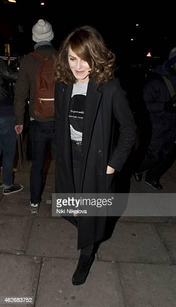 Kara Tointon is seen leaving KoKo Camden on February 2 2015 in London England