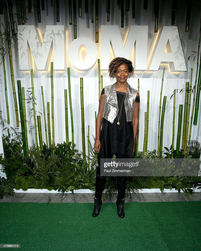 Kara Walker attends the 2015 Museum of Modern Art Party In The Garden and special salute to David Rockefeller on his 100th Birthday at Museum of Modern Art on June 2, 2015 in New York City.