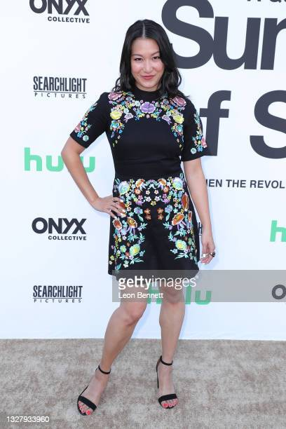"""Kara Wang attends a Cinespia Special Screening Of Fox Searchlight And Hulu's """"Summer Of Soul"""" With Questlove at The Greek Theatre on July 09, 2021 in..."""