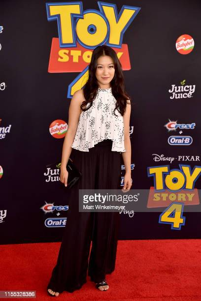 """Kara Wang attends the premiere of Disney and Pixar's """"Toy Story 4"""" on June 11, 2019 in Los Angeles, California."""