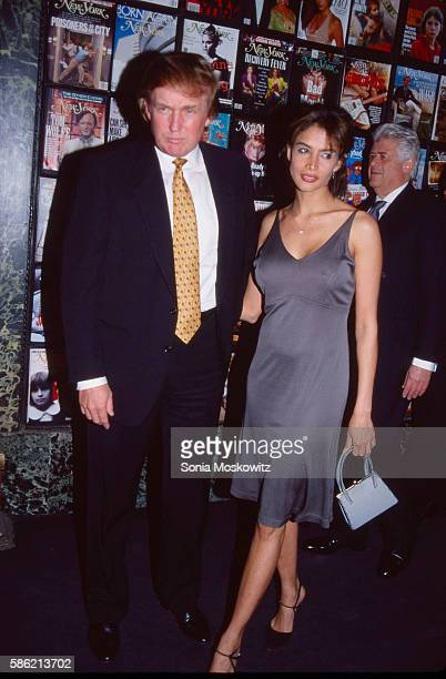 Kara Young and Donald Trump attend the New York Magazine 30th anniversary party April 21998 in New York City
