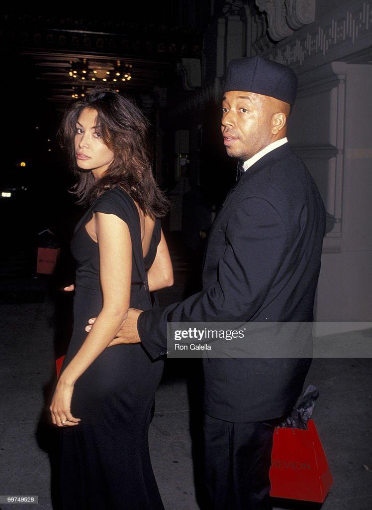 Kara Young and Russell Simmons