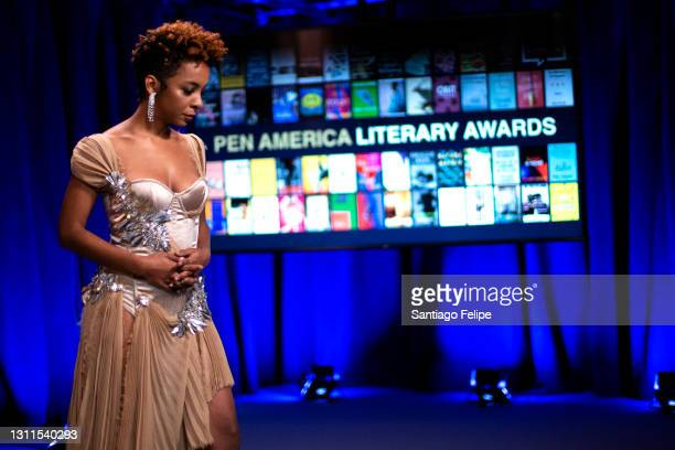 Kara Young hosts the 2021 PEN America Literary Awards on April 07, 2021 in New York City. This year's virtual ceremony streams on April 8th at 7 PM.