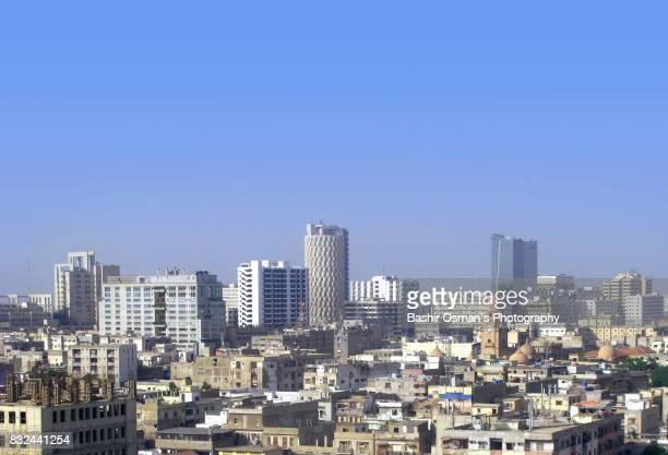 Karachi -a high angle view