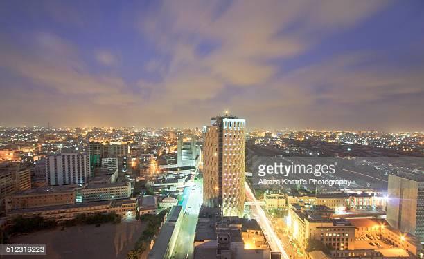Karachi cityscape