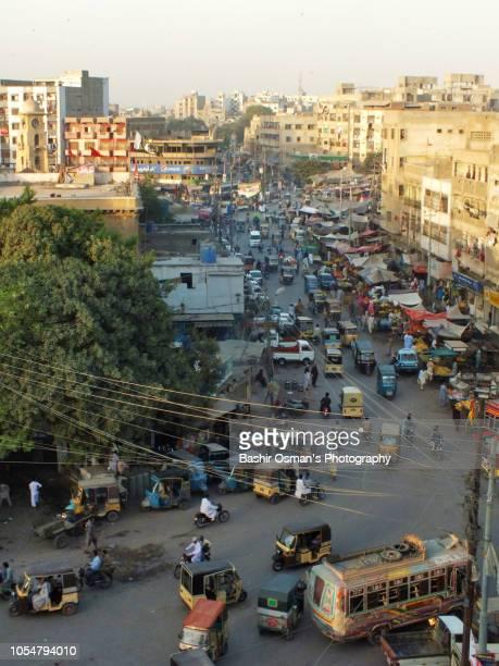 karachi -life going around streets of the city - カラチ ストックフォトと画像