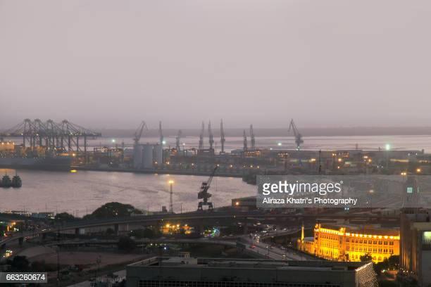 Karachi Port view