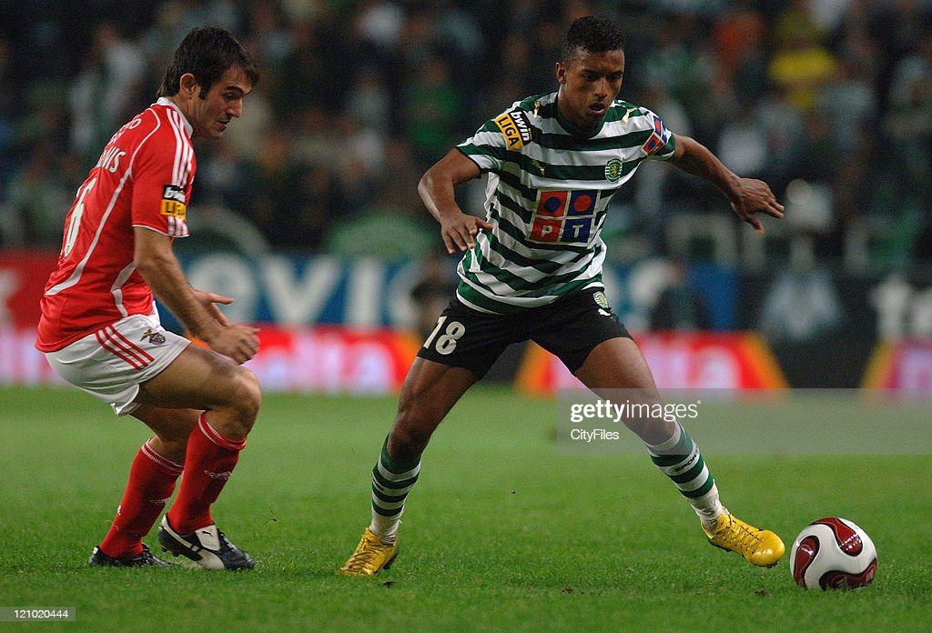 Portugese Premier League - Sporting Lisbon vs SL Benfica - December 1, 2006 : Foto di attualità