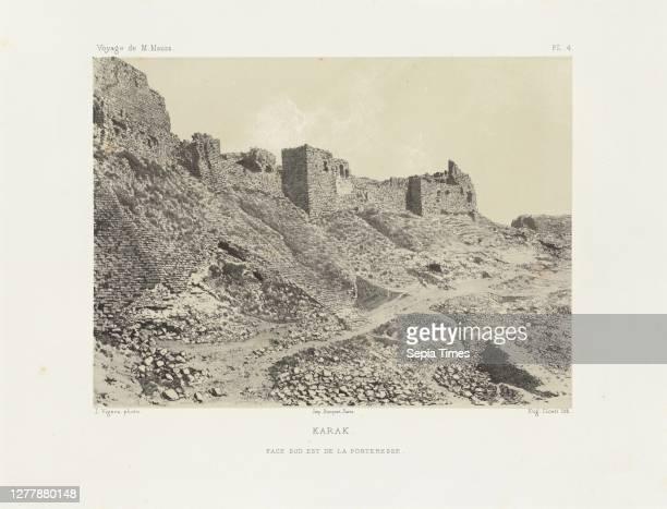 Karak, Voyage d'exploration à la mer Morte, à Petra, et sur la rive gauche du Jourdain, Albert, Honoré Paul Joseph d', duc de Luynes, 1802-1867,...