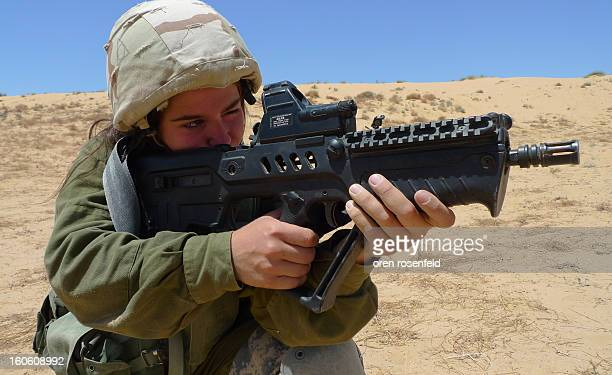 Karakal-combat-unit-men-and-women-serving-together in Israel's border with Egypt. This is the only mixed IDF combat infantry unit that recently...