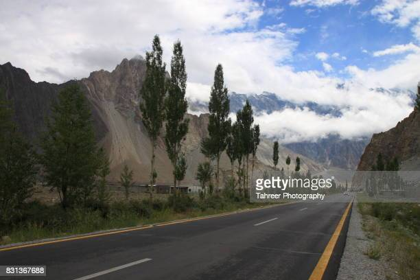 Karakoram Highway at Passu