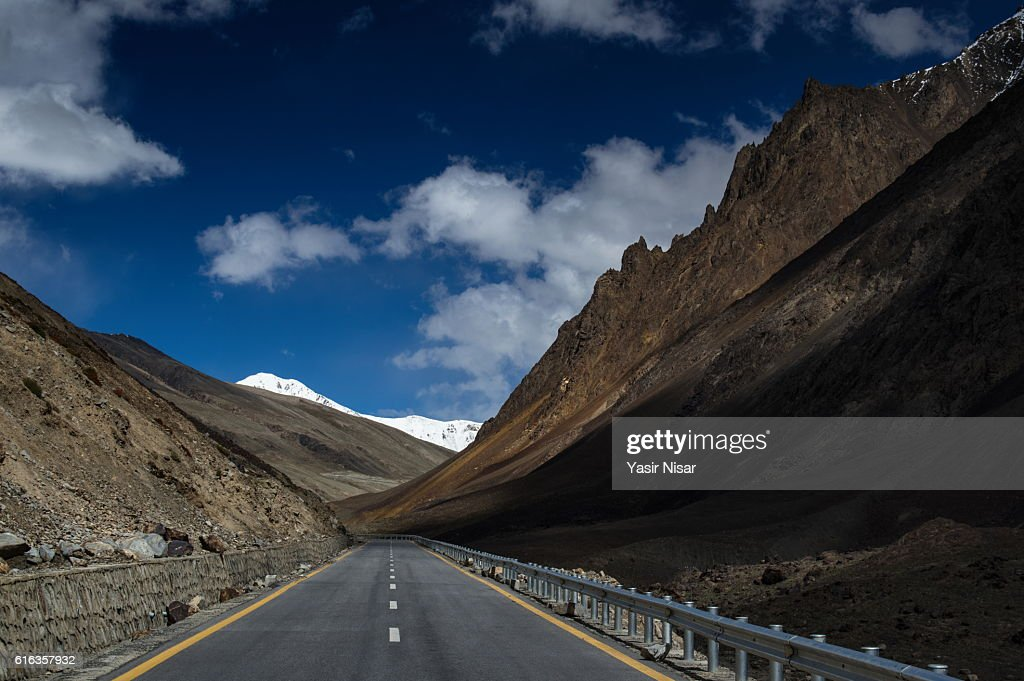 Karakoram Highway, Gilgit Baltistan : Stock Photo