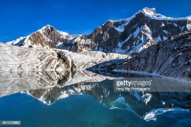 Karakoram Reflections @ Kani Basa Glacier, Biafo Hispar Snow Lake Trek, Central Karakoram National Park, Gilgit-Baltistan, Pakistan