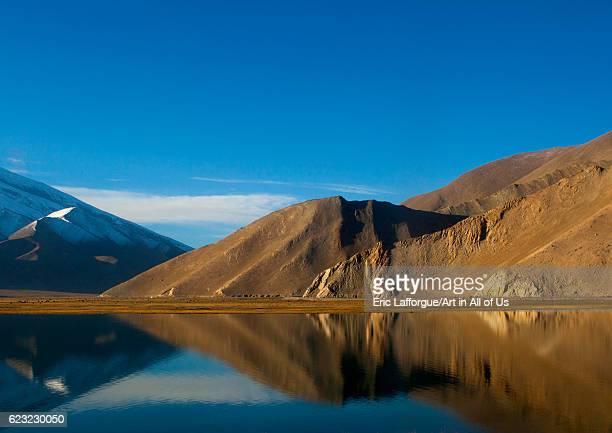 Karakul lake, Xinjiang Uyghur Autonomous Region, China on September 22, 2012 in Karakul Lake, China.