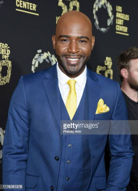"""Karamo Brown and Bobby Berk attend Los Angeles LGBT Center Celebrates 50th Anniversary With """"Hearts Of Gold"""" Concert & Multimedia Extravaganza at The..."""