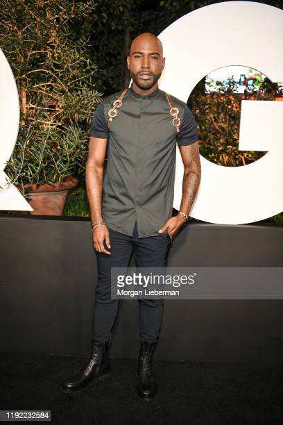 Karamo Brown arrives at the 2019 GQ Men Of The Year event at The West Hollywood Edition on December 05 2019 in West Hollywood California