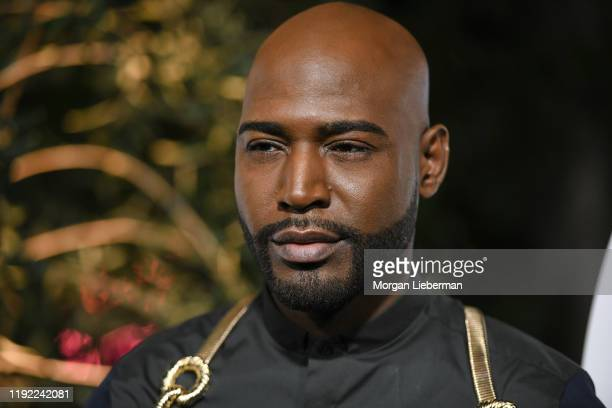 Karamo Brown arrives at the 2019 GQ Men Of The Year event at The West Hollywood Edition on December 05, 2019 in West Hollywood, California.