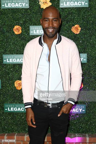 Karamo Brown at Debbie Reynolds Legacy Studios Grand Opening at Debbie Reynolds Legacy Studios on February 10 2018 in North Hollywood California