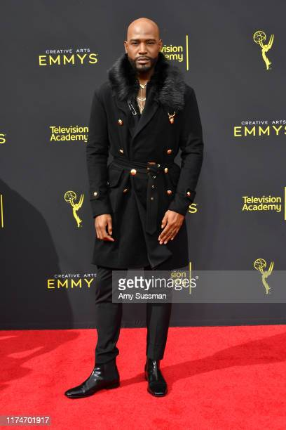 Karamo Brown attends the 2019 Creative Arts Emmy Awards on September 14, 2019 in Los Angeles, California.