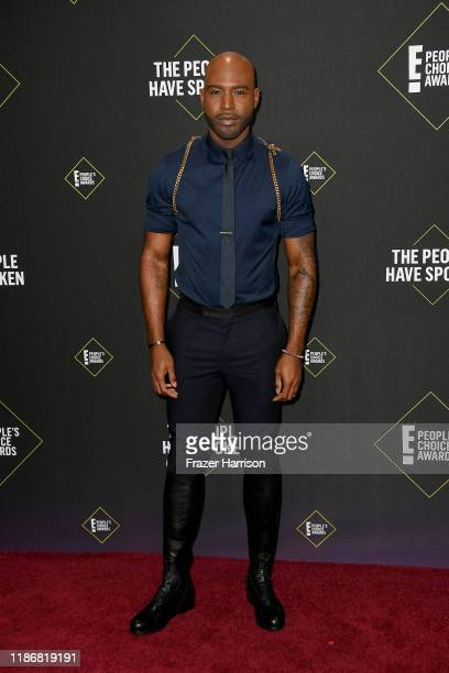 Karamo Brown attends the 2019 E People's Choice Awards at Barker Hangar on November 10 2019 in Santa Monica California