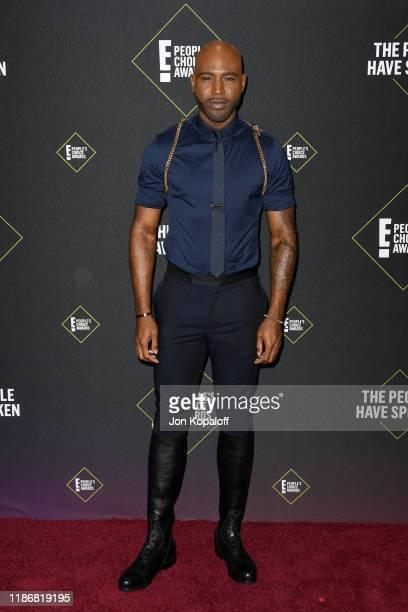 Karamo Brown attends the 2019 E People's Choice Awards at Barker Hangar on November 10 2019 in Santa Monica California