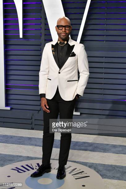 Karamo Brown attends the 2019 Vanity Fair Oscar Party hosted by Radhika Jones at Wallis Annenberg Center for the Performing Arts on February 24 2019...