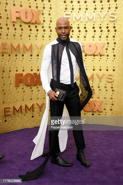 Karamo Brown attends the 71st Emmy Awards at Microsoft Theater on September 22, 2019 in Los Angeles, California.