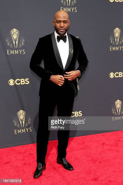 Karamo Brown attends the 73rd Primetime Emmy Awards at L.A. LIVE on September 19, 2021 in Los Angeles, California.